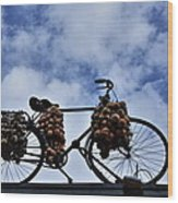 The Onion Bicycle Wood Print