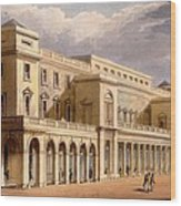 The Opera House, Formerly The Lyceum Wood Print