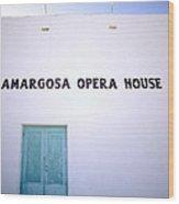 The Opera House Wood Print