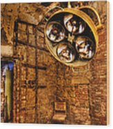 The Operating Room - Eastern State Penitentiary Wood Print