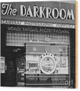 The Original Darkroom Wood Print