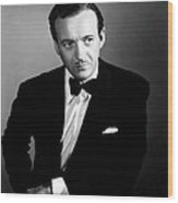 The Other Love, David Niven, 1947 Wood Print