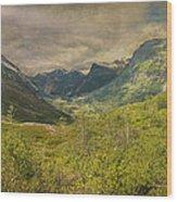 The Other Side Of Trollstigen Norway Wood Print