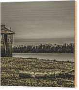 The Outpost Wood Print