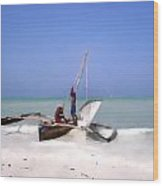 The Outrigger Wood Print