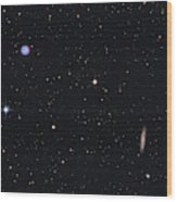 The Owl Nebula And Messier 108 Wood Print
