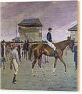 The Owner S Enclosure Newmarket Wood Print by Isaac Cullen