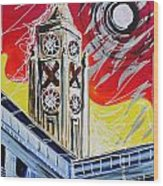 The Oxo Tower Wood Print