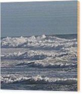 The Pacific Ocean Near Oceanside Ca Wood Print