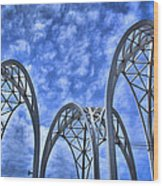 The Pacific Science Center Wood Print