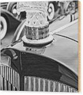 The Packard Eagle Hood Ornament At The Concours D Elegance. Wood Print