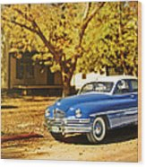 The Packard Wood Print