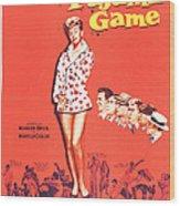 The Pajama Game, Us Poster, Doris Day Wood Print