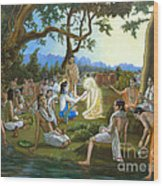 The Panihati Festival Wood Print