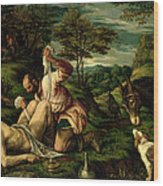 The Parable Of The Good Samaritan Wood Print