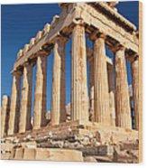 The Parthenon Wood Print