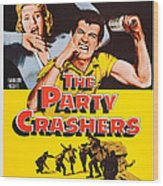 The Party Crashers, Connie Stevens Wood Print