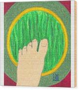 The Path - Mudra Mandala Wood Print