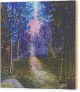 The Path Up Yonder Wood Print