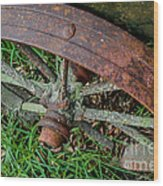 The Patina Of Time Wood Print