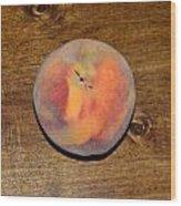 The Peach Wood Print