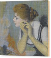 The Pearl Wood Print