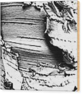 The Peeling Birch Wood Print
