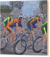 The Peloton Wood Print