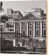 The Pennsylvania Hospital Wood Print