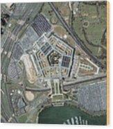 The Pentagon Wood Print