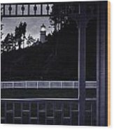 The Perfect Frame For The Heceta Lighthouse Wood Print