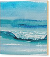 The Perfect Wave Wood Print