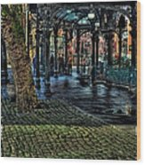 The Pergola In Pioneer Square IIi Wood Print
