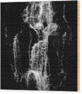 The Phantom Of The Water Wood Print