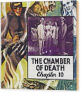 The Phantom, Us Poster, Tom Tyler Left Wood Print