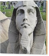The Pharaoh Wood Print