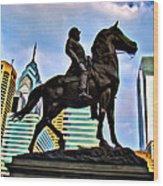The Philadelphia General Wood Print