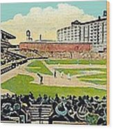 The Phillies Baker Bowl In Philadelphia Pa In 1914 Wood Print