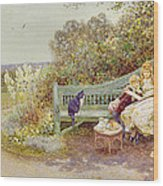 The Picture Book Wood Print