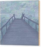 The Pier Wood Print