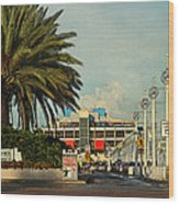 The Pier 2 -  St. Petersburg Fl Wood Print