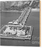The Pier St Petersburg Fl Wood Print