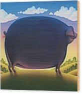 The Pig Wood Print