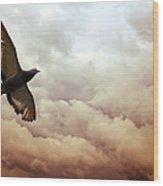 The Pigeon Wood Print