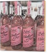 The Pink Drink Wood Print