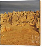The Pinnacles 4 Wood Print