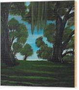 The Plantation Wood Print