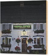 The Plough Inn Wood Print