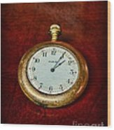 The Pocket Watch Wood Print