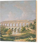 The Pont Du Gard, Nimes Wood Print